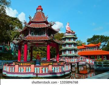 Haw Par Villa in Singapore - Shutterstock ID 1335896768