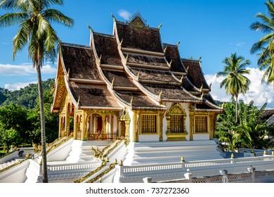 The Haw Pha Bang or Royal palace of Luang Prabang in Luang Prabang National Museum, Luang Prabang, Laos
