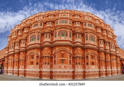 Hawa Mahal is a beautiful palace in Jaipur (Pink City), Rajasthan, also known as Palace of Winds or Palace of the Breeze, constructed of red and pink sandstone built in 1799.
