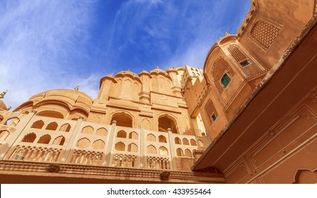 Hawa Mahal is a beautiful palace in Jaipur (Pink City), Rajasthan, also known as Palace of Winds or Palace of the Breeze, constructed of red and pink sandstone built by Maharaja Sawai Pratap Singh.