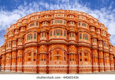 Hawa Mahal is a beautiful palace in Jaipur (Pink City), Rajasthan, also known as the Palace of Winds or Palace of the Breeze, constructed of red and pink sandstone built in 1799