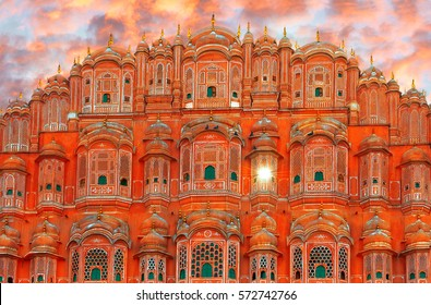 Hawa Mahal - palace complex of the Maharaja of Jaipur, India