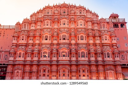 Hawa Mahal 'Palace of Winds or Breeze' is a palace in Jaipur, India. Its cultural & architectural heritage is a true reflection of fusion of Hindu Rajput architecture & Islamic Mughal architecture.