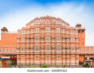 Hawa Mahal palace (Palace of the Winds) in Jaipur, Rajasthan, India.