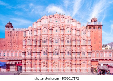 Hawa Mahal (Palace of the Winds) in Jaipur