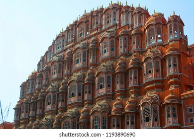 Hawa Mahal is the Palace of winds in Jaipur India