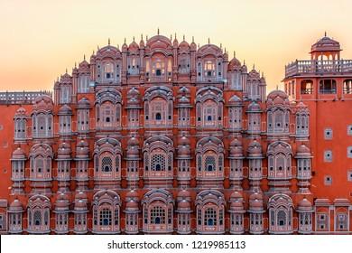 Hawa Mahal - Palace of Winds, Jaipur, India.