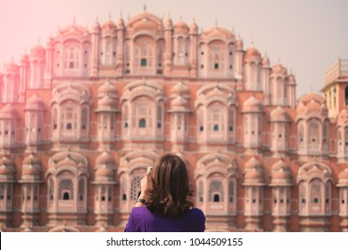 Hawa Mahal - Palace of Winds , Landmark of Jaipur, India