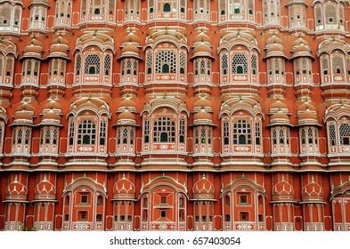 The Hawa Mahal windows