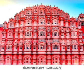 Hawa Mahalis one of the most popular attractions in the Pink City of Jaipur. Built  in 1799, using pink and red sandstone,Hawa Mahalis a fine specimen of Rajput architecture.