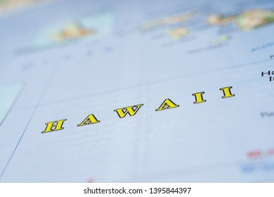 Hawai USA map background texture