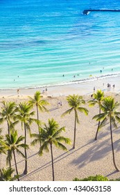 Hawaii beach Honolulu Waikiki Oahu
