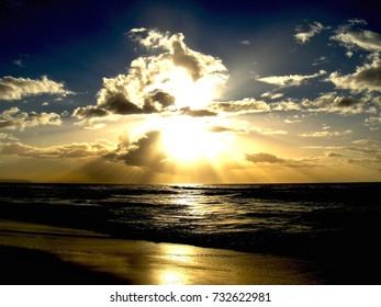 Hawaii Beach Kauai Sunset