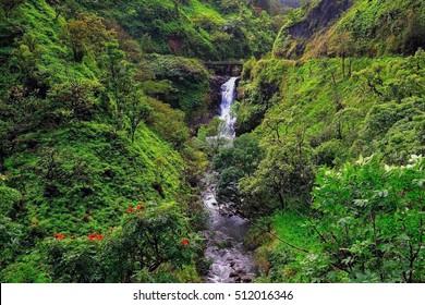Hawaii Maui hana coast Wailua falls bridge
