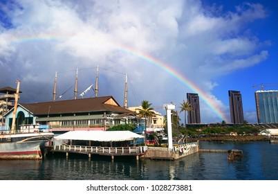 Hawaii - Oahu Honolulu Waikiki The sky that takes the sky