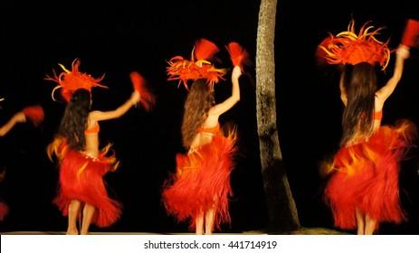 Hawaii Polynesian Dancers