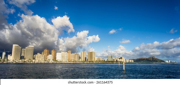 Hawaii skyline