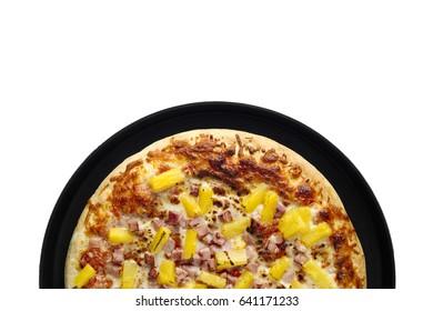 Hawaiian home made gourmet pizza
