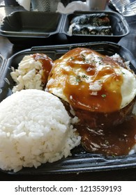 Hawaiian Loco Moco plate.