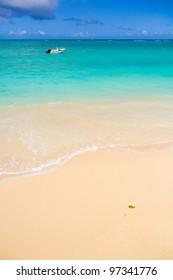 The Hawaiian sea and sky