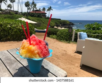 Hawaiian Shaved Ice in Maui
