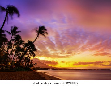 Royalty-Free Hawaiian Sunset Stock Images, Photos & Vectors ...