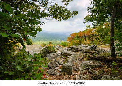 Hawk Mountain Sanctuary on the Appalachian Mountains
