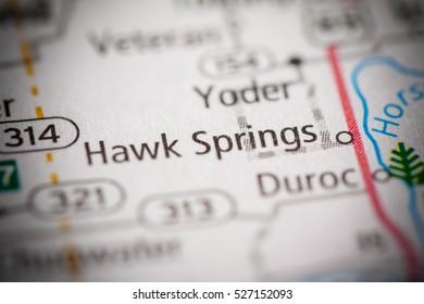 Hawk Springs. Wyoming. USA