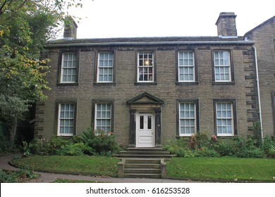 Haworth Parsonage in Bronte Country, West Yorkshire, England