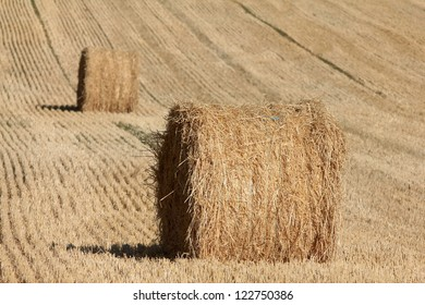 Hay Bails in France