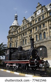 Haydarpasa Train Station in Istanbul,Turkey.