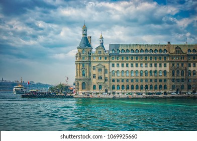 Haydarpasa train station on the Asian part of Istanbul is one of the historic landmarks of the city..
