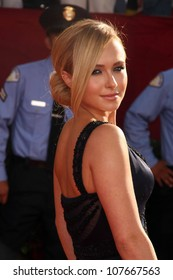 Hayden Panettiere  at the 60th Annual Primetime Emmy Awards Red Carpet. Nokia Theater, Los Angeles, CA. 09-21-08