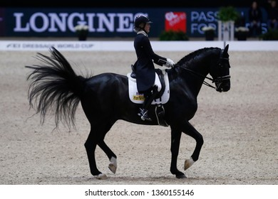 Hayley Watson-Greaves (GER) riding Rubins Nite during the Equita Longines 2018, on October 31th to November 4th , 2018, in Lyon, France - Photo Romain BIARD / DPPI