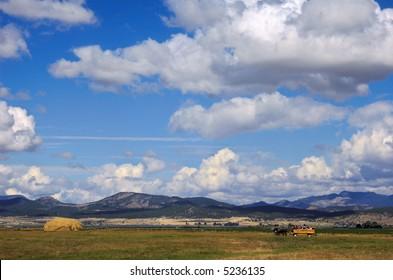 Hayride under the Big Sky