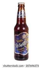 Hayward, CA - July 27, 2014: Bottle of Josephs Brau Brewing company - Winter Brew, a double bock Lager