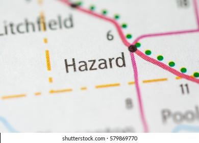 Hazard. Nebraska. USA
