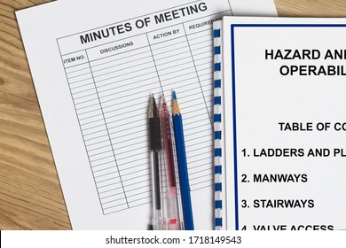 Hazard and operability concept- many uses in the construction industry.
