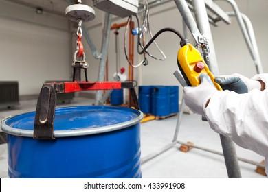 Hazardous materials storage