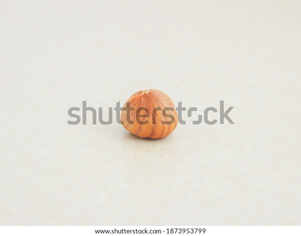 Hazelnut isolated, healthy dried fruit