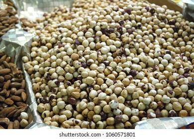 Hazelnut at market