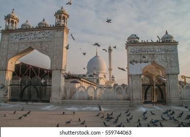 Hazratbal is a Muslim shrine in Srinagar, Jammu & Kashmir, India