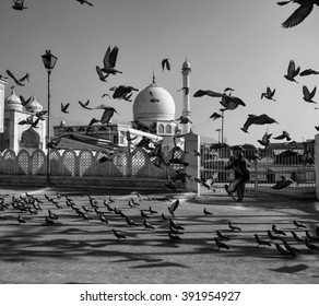 The Hazratbal Shrine (Dargah), in Srinagar Kashmir