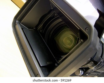 HD camera used to record in HD