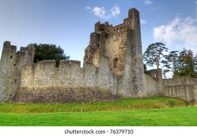 HDR of Adare Castle interiors - Ireland
