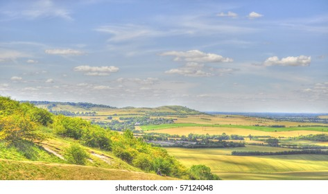 HDR Of Dunstable Downs