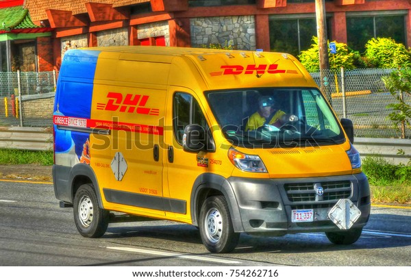 Hdr Image Dhl Mail Packages Delivery Stock Photo (Edit Now