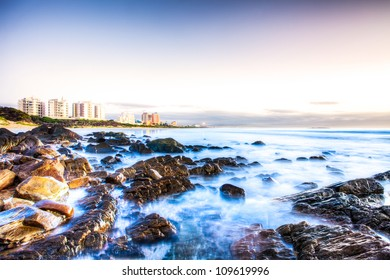 HDR image of Dias Beach in Mossel Bay.
