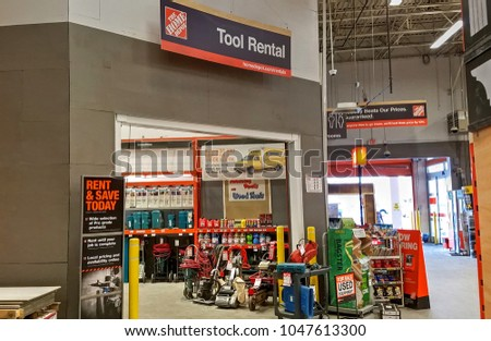 Hdr Image Home Depot Store Tool Stockfoto Jetzt Bearbeiten