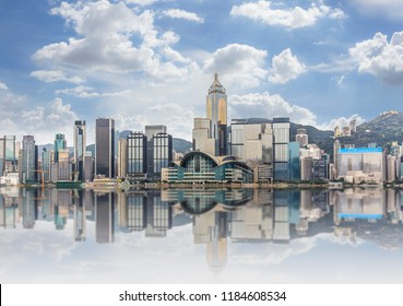 HDR Image of Hong Kong : Victoria Harbour